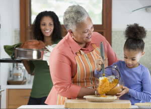 Spend time with your child during the holiday's and share values with them.