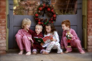 Read books to take the attention off of gift giving!