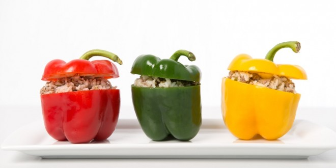 Food Friday: Stuffed Bell Peppers