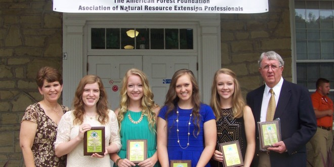 Alabama Team Earns Third Place at National 4-H Forestry Invitational
