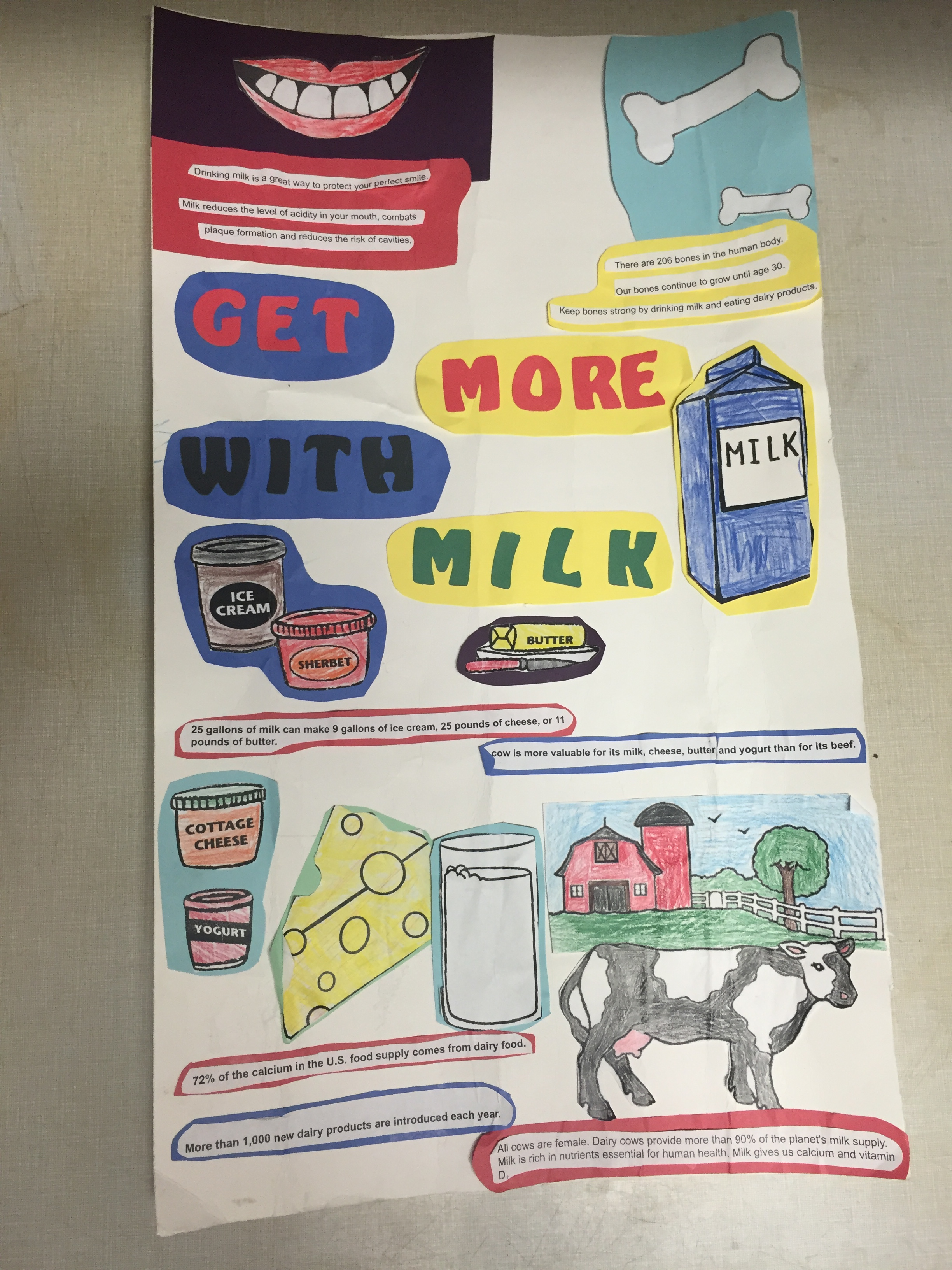 4 h poster designs -  2016 Dairy Poster Contest 1st Place Junior