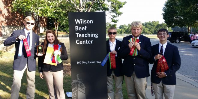 State 4-H Livestock Judging Contest Winners Announced
