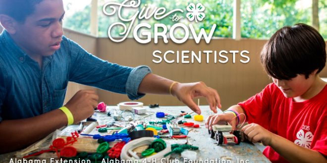 4-H Give to Grow Scientists