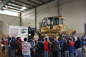Students learned about forestry, forest fires during drought and the importance of taking care of the woods around us.