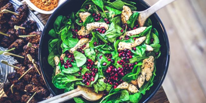Salads: nutritious and delicious