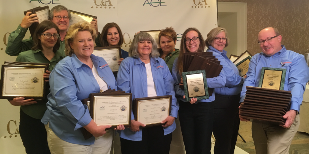 Alabama Extension Sets Record for Communications Awards
