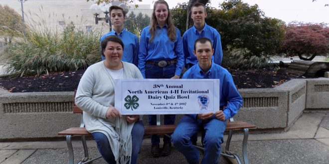 Alabama 4-H Dairy Quiz Bowl Team Brings Home Reserve Championship