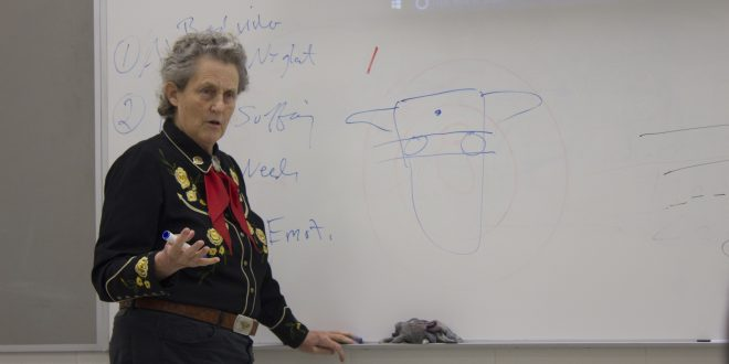 Temple Grandin Visits Auburn University