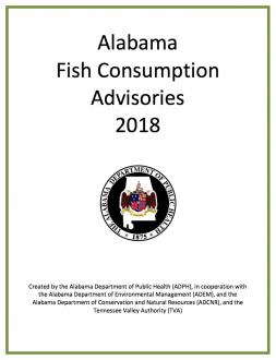 Alabama Fish Consumption Advisories 2018