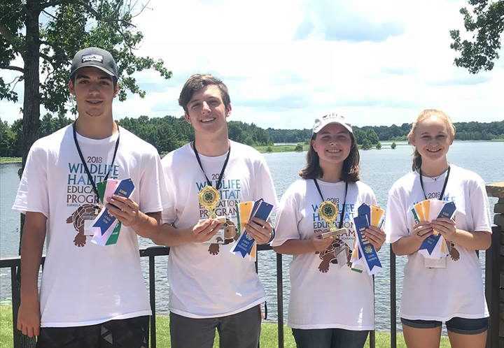 Winston County 4-H Wildlife Team Wins State Competition