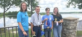 Lee County 4-H Forestry Invitational winners