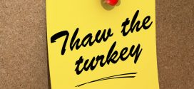Properly Thaw Your Holiday Turkey