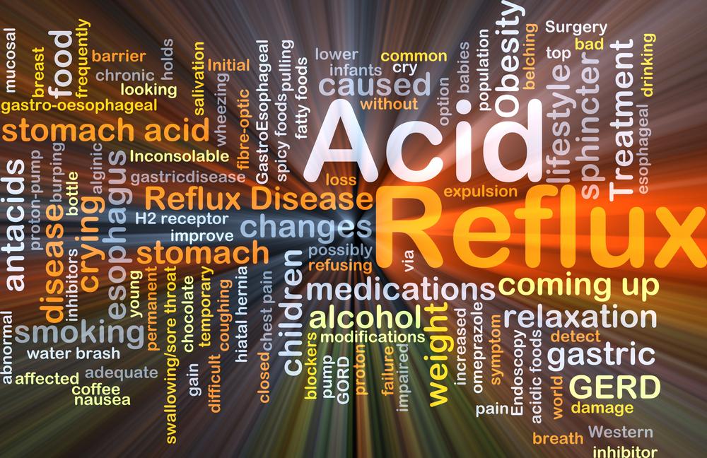acid reflux pains chest symptoms
